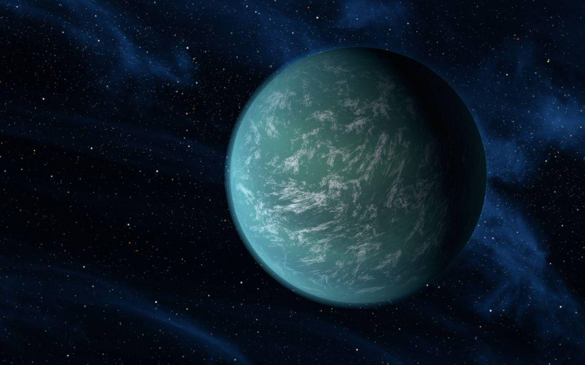 Фото бесплатно планета, звезды, сечение, вакуум, невесомость, космос