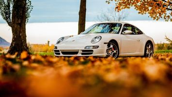 Photo free piston 911, lights, sports car