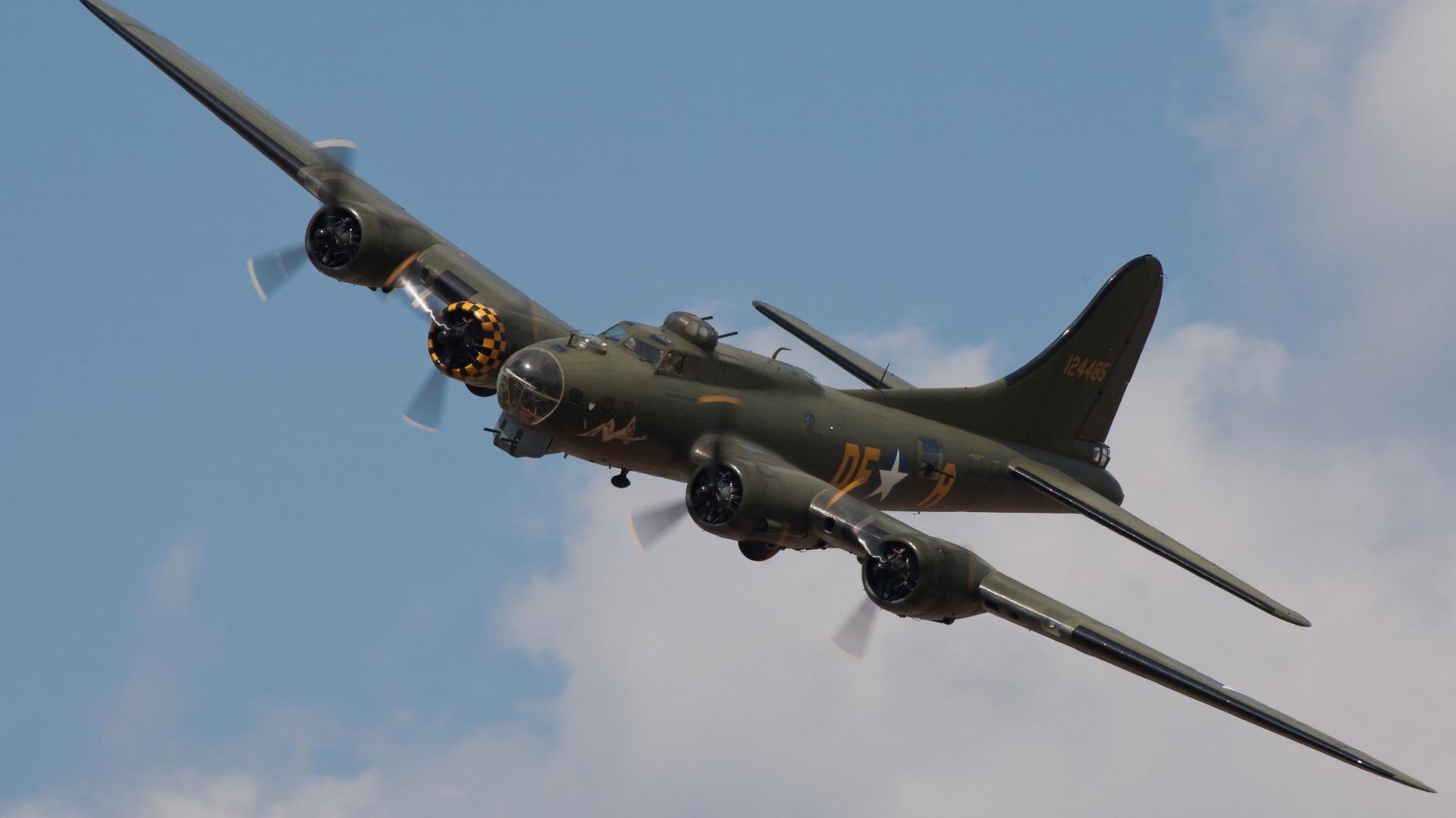 самолет, военный, бомбардировщик