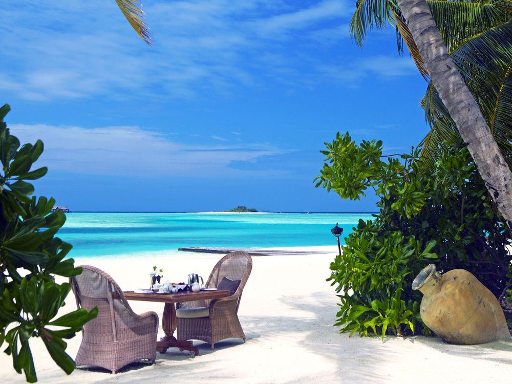 Фото бесплатно тропики, мальдивы, море, пляж, остров, пейзажи, пейзажи