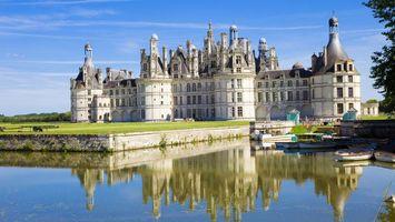Фото бесплатно замок, окна, вода