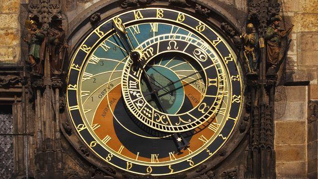 Фото бесплатно астрономия, часы, чехия