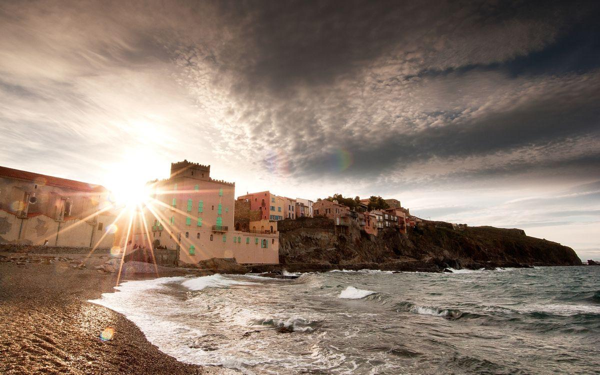 Фото бесплатно море, пляж, скала - на рабочий стол