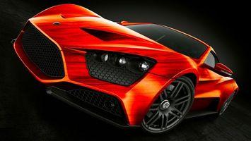 Фото бесплатно машина, автомобиль, красный
