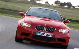 Photo free BMW 3, Coupe, route