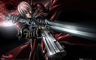 Бесплатные фото данте,демон,убийца,меч,пистолет,человек,аниме