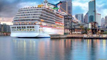 Бесплатные фото дома, окна, море, вода, причал, корабль, город