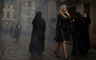 Фото бесплатно фигура, блондинка, каблуки