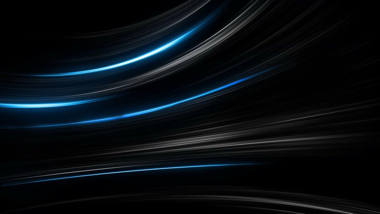Фото бесплатно фон, черный, линии, полоски, свет, огни, заставка, обои, абстракции, разное, разное