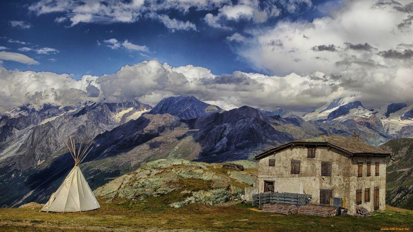 Фото бесплатно пейзажи, высота, горизонт - на рабочий стол