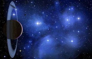 Фото бесплатно планеты, искусство, астероиды