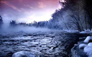 Фото бесплатно зима, пейзажи, Тает