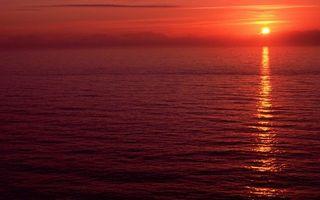 Фото бесплатно море, отражение, солнце