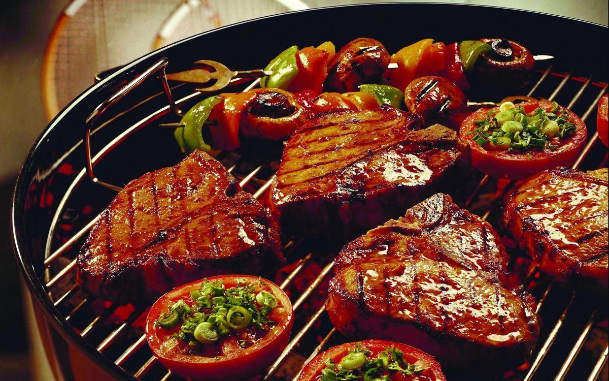 Фото бесплатно мясо, гриль, стейк - на рабочий стол
