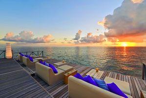 Бесплатные фото тропики, море, курорт, закат, пейзажи