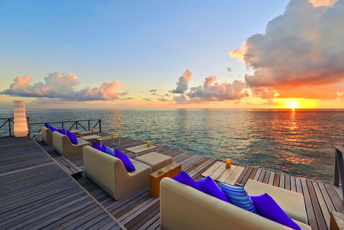 Фото бесплатно тропики, море, курорт, закат, пейзажи, пейзажи