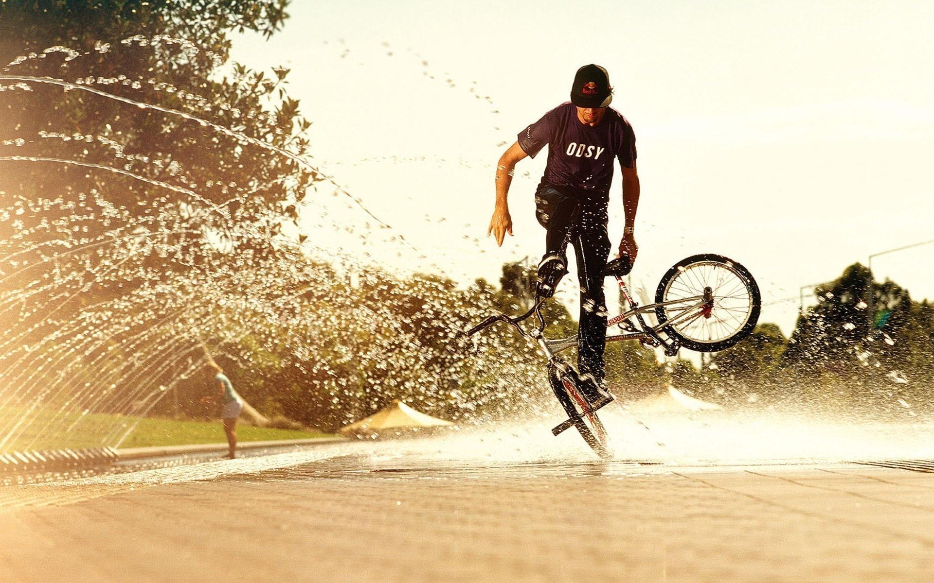 велосипед, велосипедист, колеса