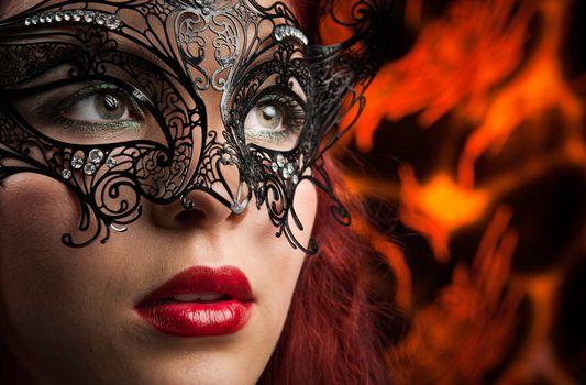 Фото бесплатно гламур, девушка, выражение лица