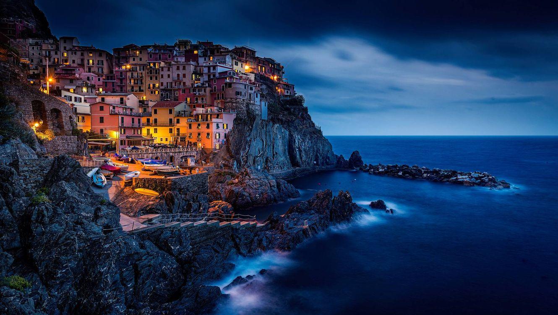 Обои Manarola, Cinque Terre, Italy картинки на телефон