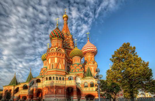 Фото бесплатно Храм Василия Блаженного, Москва, Россия