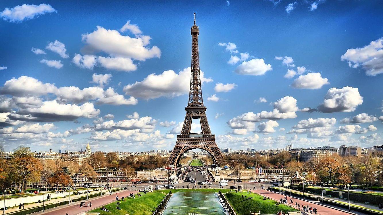 Фото бесплатно Париж, дома, здания - на рабочий стол