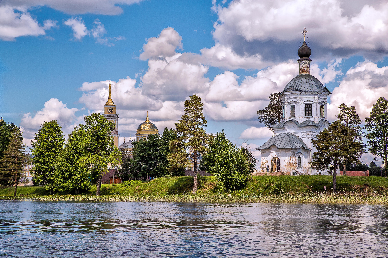 обои на рабочий стол православные храмы и монастыри лето № 217100  скачать