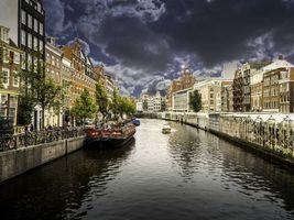 Фото бесплатно Расположен в провинции Северная Голландия, Амстердам, Нидерланды