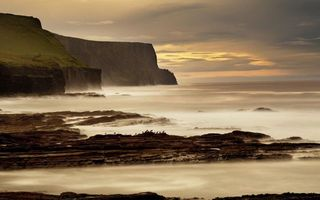 Фото бесплатно берег, обрыв, утес