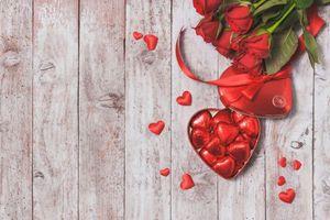 Фото бесплатно Валентина, Романтический день, роза