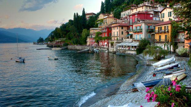 Фото бесплатно Varenna, Italy, город