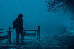 Фото бесплатно ART IRBIS PRODUCTION, Москва, туман, снег, мужчина, река, Khusen Rustamov, Хусен Рустамов, фотограф, xusenru, Природа, Россия, Город, мрак
