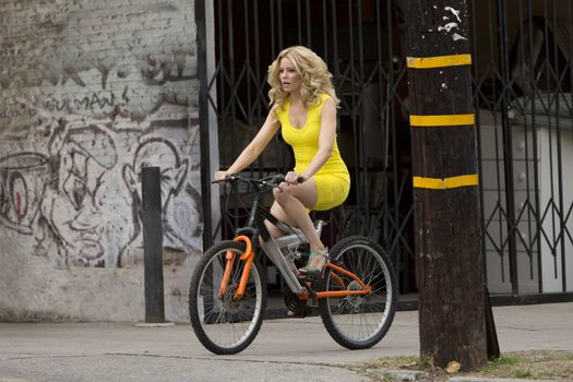 Photo free Blonde on the air, shot from the film, Elizabeth Banks