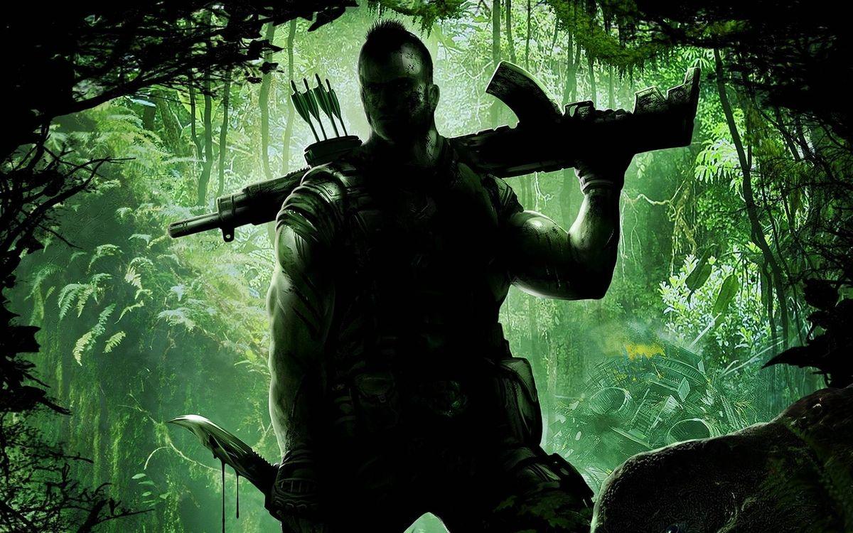 Фото бесплатно джунгли, солдат, боец - на рабочий стол