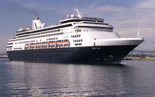 Заставки море, корабль, круизный лайнер, палубы, люди, шлюпки