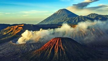 Photo free active, volcanoes, hills