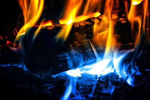 Фото бесплатно костёр, огонь, пламя