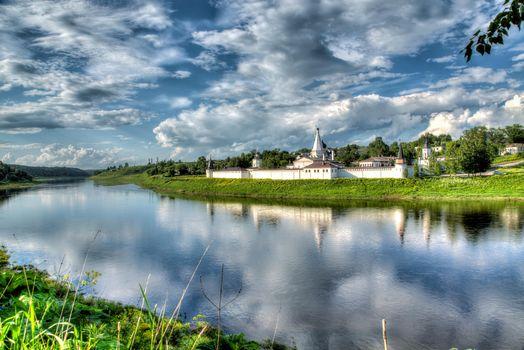 Заставки Московская область,Волоколамский район,ТеряевоУспенский Иосифо-Волоцкий монастырь