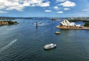 Бесплатные фото Сидней,Австралия,город