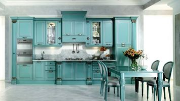 Photo free kitchen, table, furniture