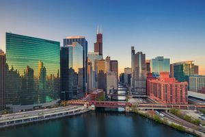 Бесплатные фото Чикаго,США,город