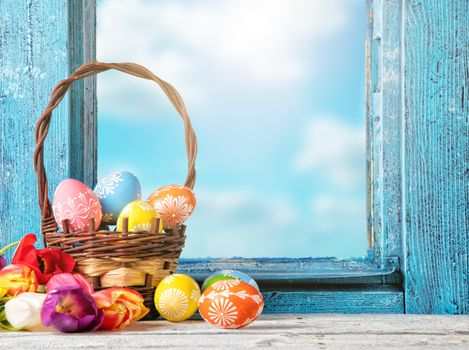 Photo free with a holiday of Easter, frame, easter