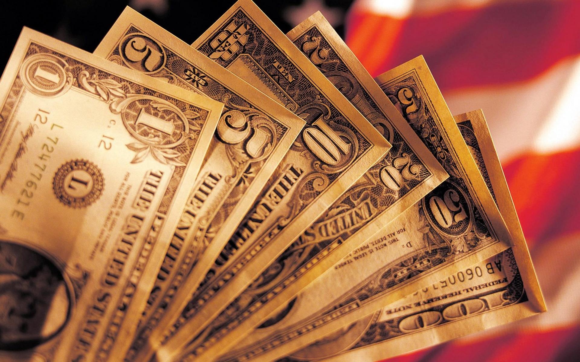 Обои доллары, баксы, банкноты, купюры