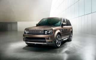 Photo free range rover, sport, brown