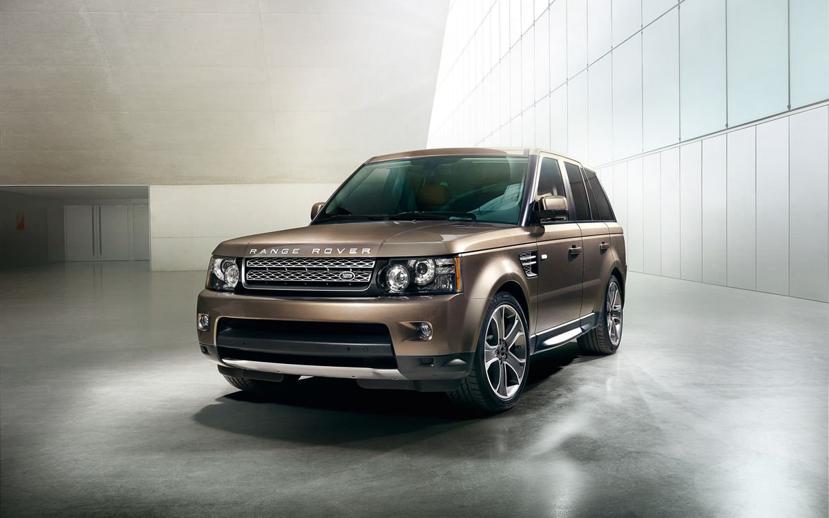 Photos for free range rover, sport, brown - to the desktop