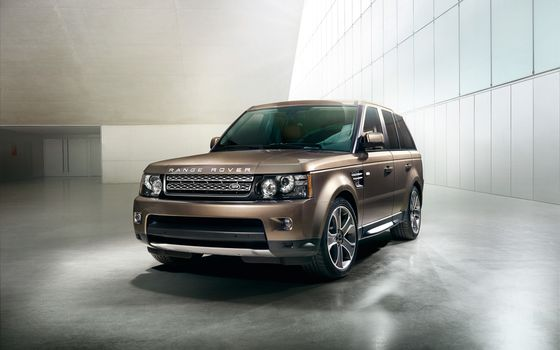 Фото бесплатно range rover, sport, коричневый