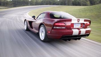 Фото бесплатно dodge viper, автомобиль, спортивный
