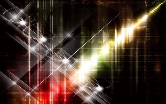 Заставки абстракция, линии, тени