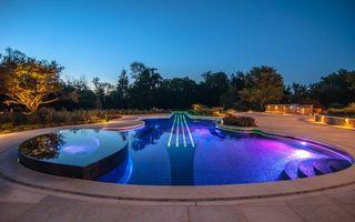 Фото бесплатно бассейн, форма, гитары