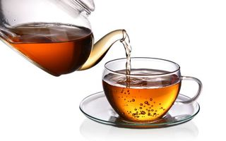 Фото бесплатно тарелка, чай, Чашка