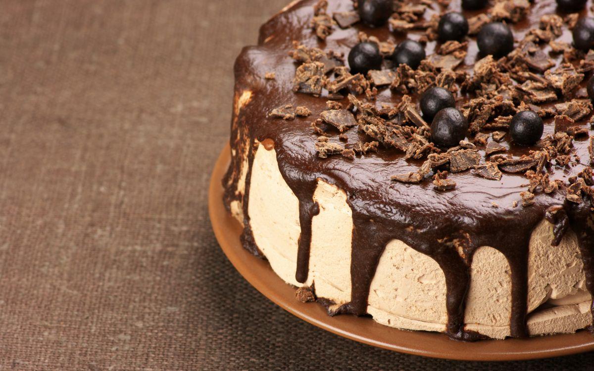 Фото бесплатно десерт, шоколад, крем - на рабочий стол